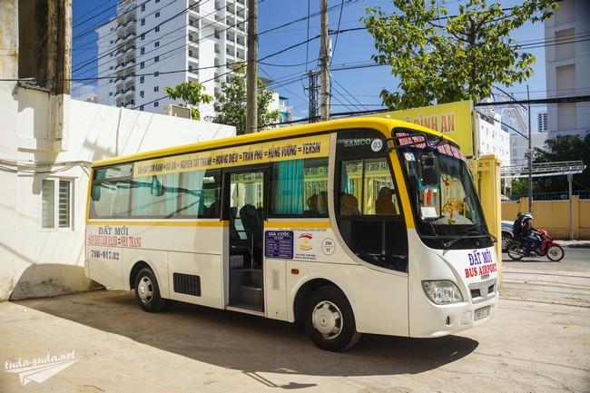 Автобус из аэропорта Камрань в Нячанг