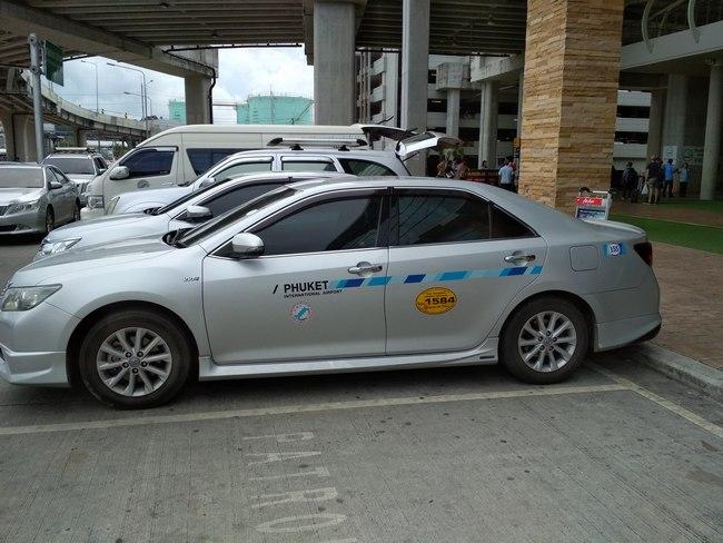 Такси аэропорт - Патонг