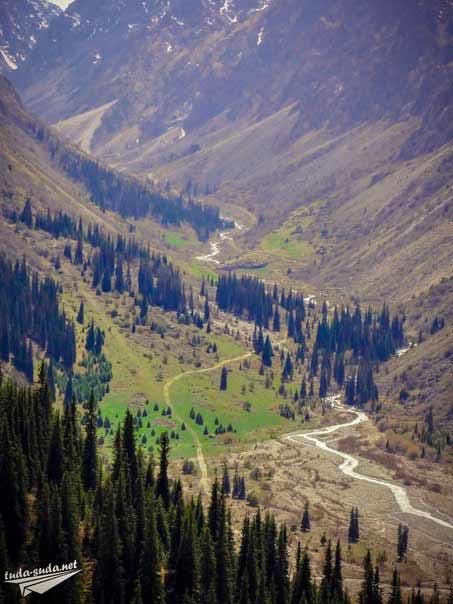 Горная река фото