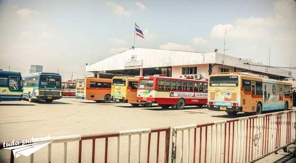 Автобусы в Таиланде