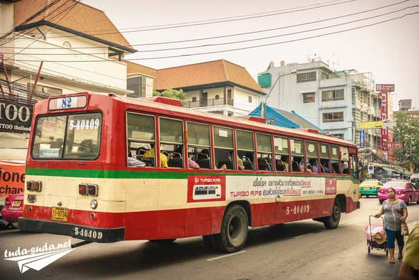 автобусы Бангкока