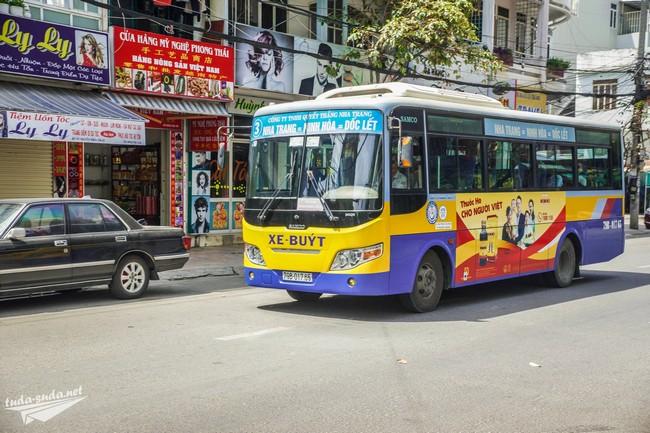 маршруты автобусов в нячанге