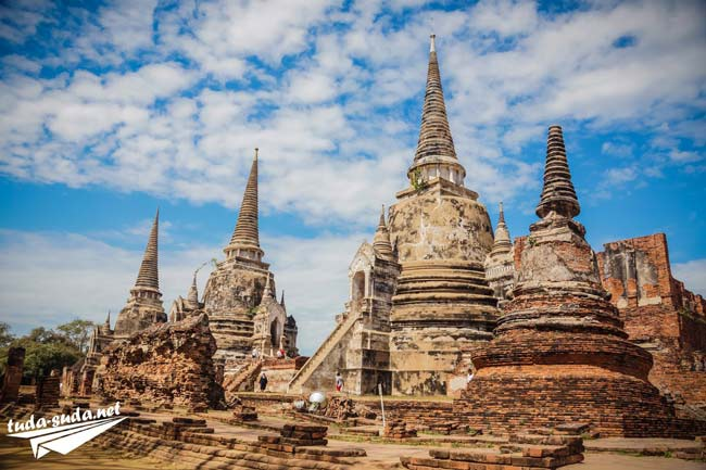 Wat Phra Si Sanphet Аюттайя