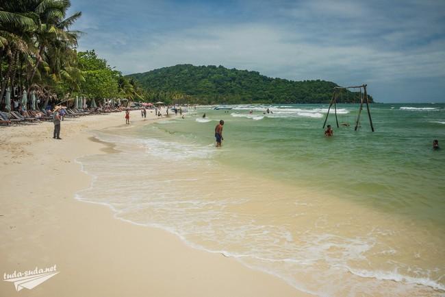 пляж бай сао фукуок вьетнам