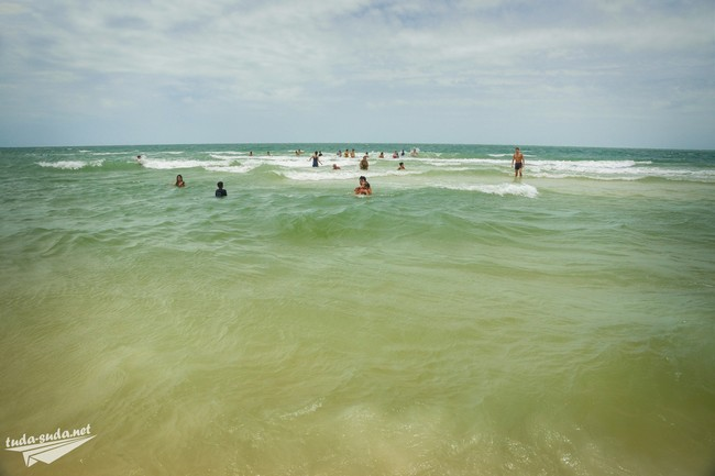 пляж бай сао фукуок море