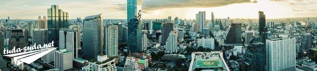 Бангкок ресторан на крыше