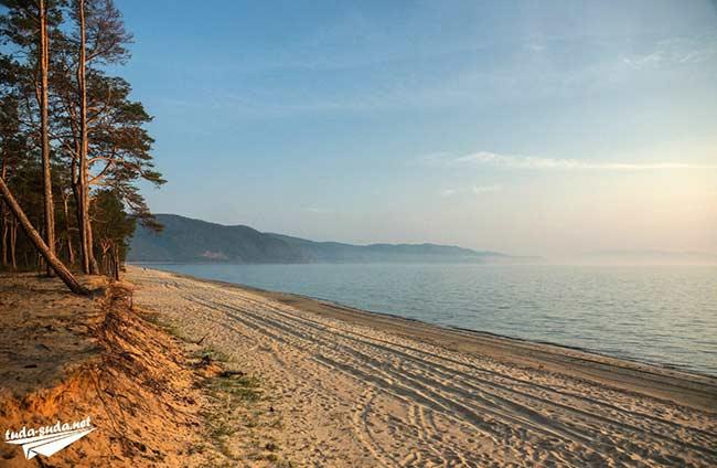 Пляж в Усть-Баргузине