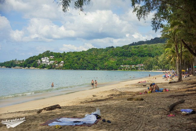 beach sand thailand
