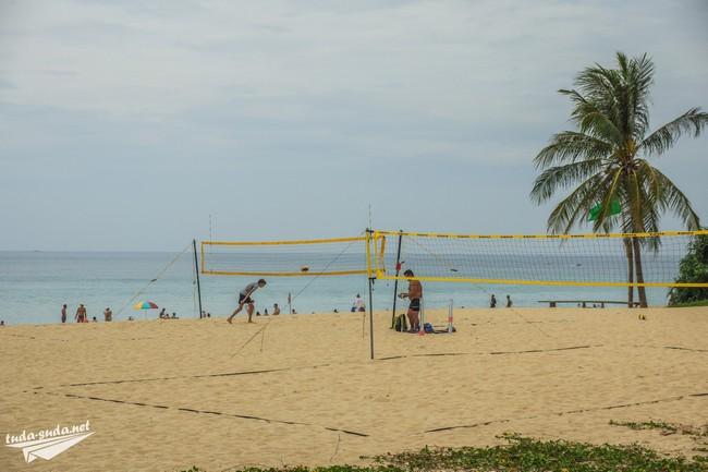 sport Karon beach