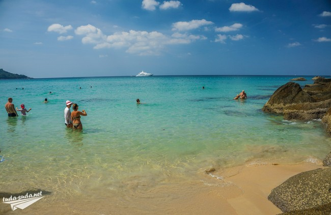 Phuket beach sea