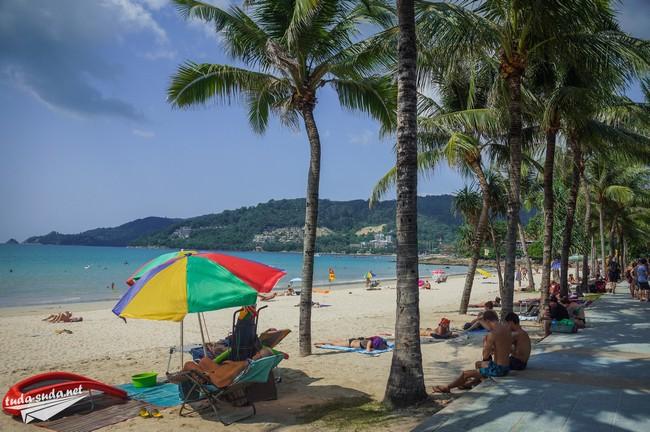 Patong sea beach
