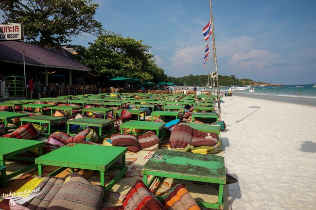Бар на пляже Сай Кео