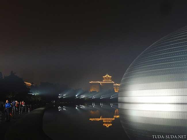 Оперный театр Пекин фото