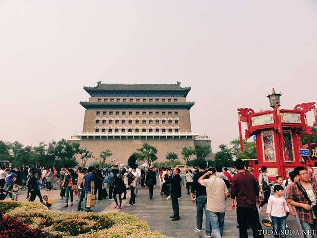 Ворота Цяньмэнь фото