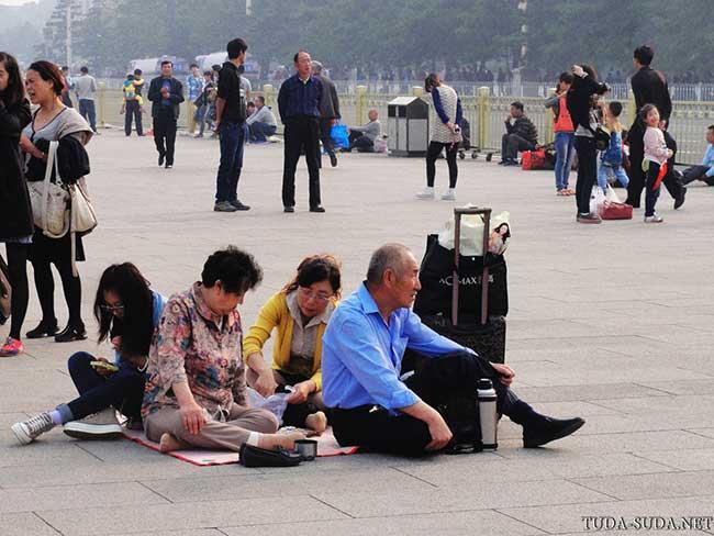 Люди Пекин фото