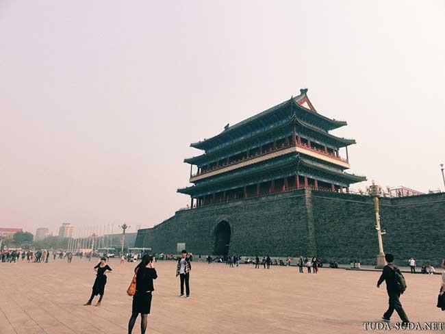 Ворота Цяньмэнь Пекин