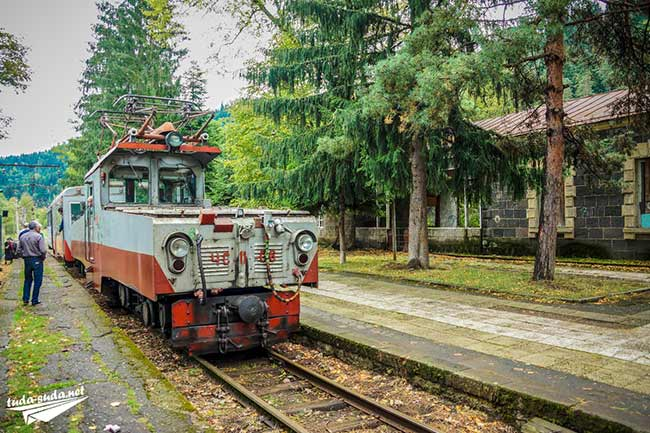 Поезд Боржоми-Бакуриани
