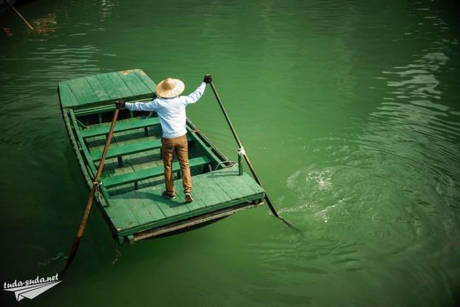 лодка в халонг бей