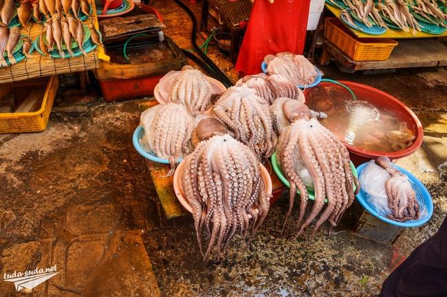 Рынок Джагальчи Пусан