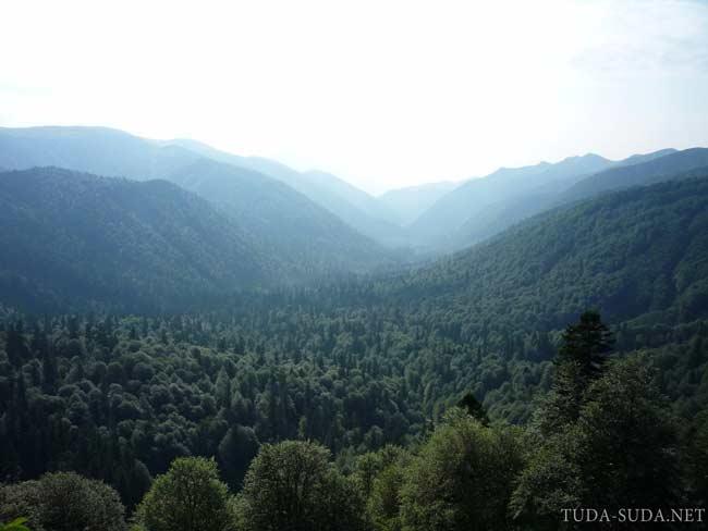 Главный Кавказский хребет фото