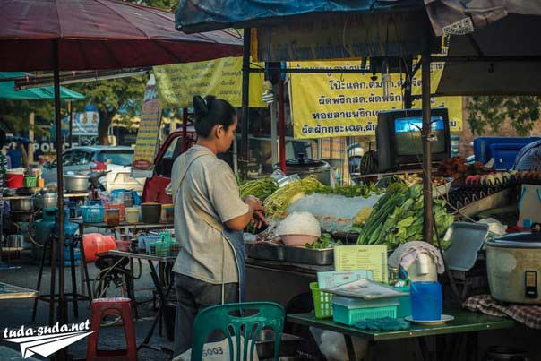 Улица еды Таиланд