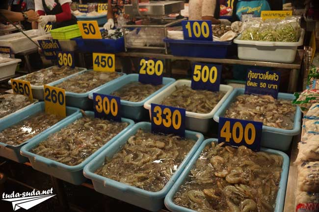 Морепродукты Таиланд