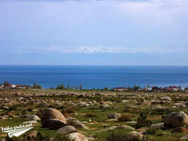 Горы Иссык-Куль фото