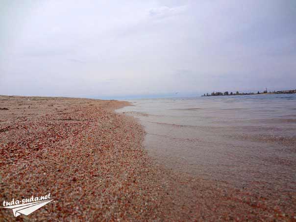 Пляж Иссык-Куль