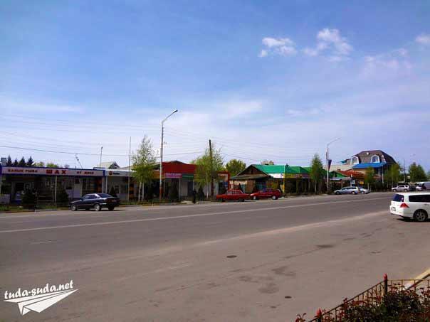 улица Советская Чолпон-Ата