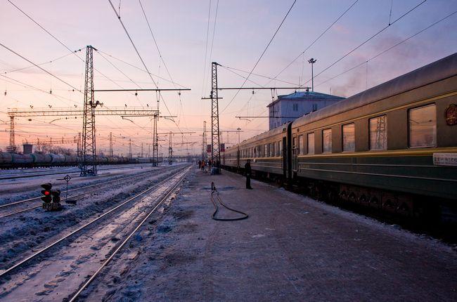 поезд россия зима