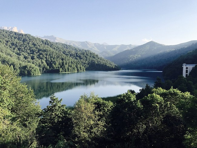 Озеро Гёйгёль Азербайджан
