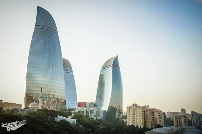 Flame Towers Баку