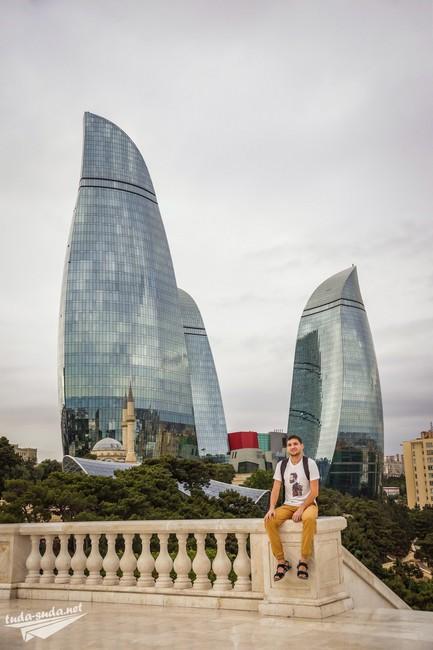 огненные башни Баку