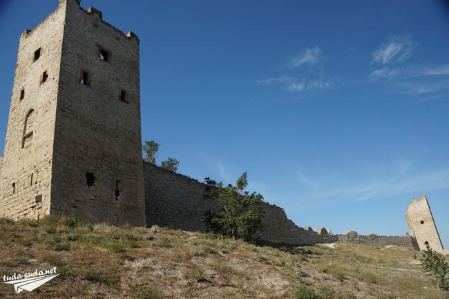 Генуэзская крепость Феодосия