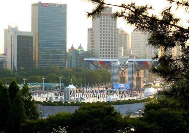 Олимпийский парк Сеул