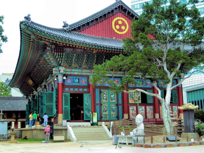 Jogyesa Seoul