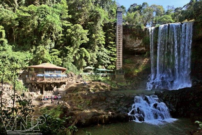 водопад Дамбри вьетнам