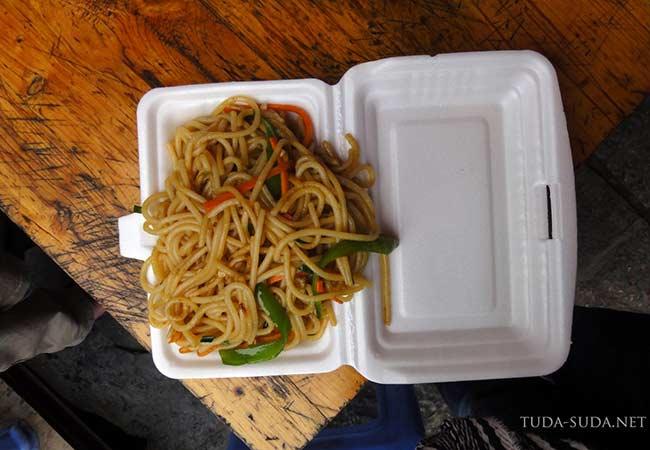 Еда в Китае фото