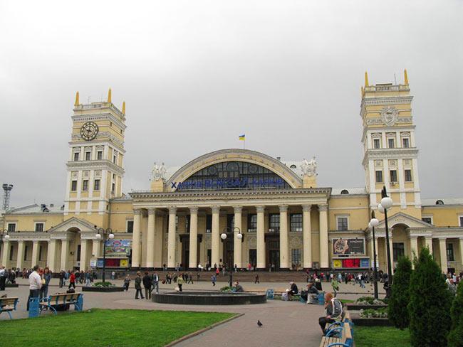 Жд вокзал Харьков фото
