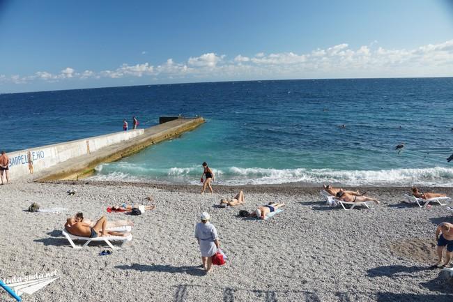 Гаспра пляж