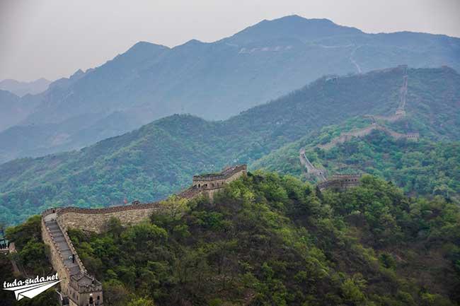Великая Китайская Стена-участок Мутяньюй