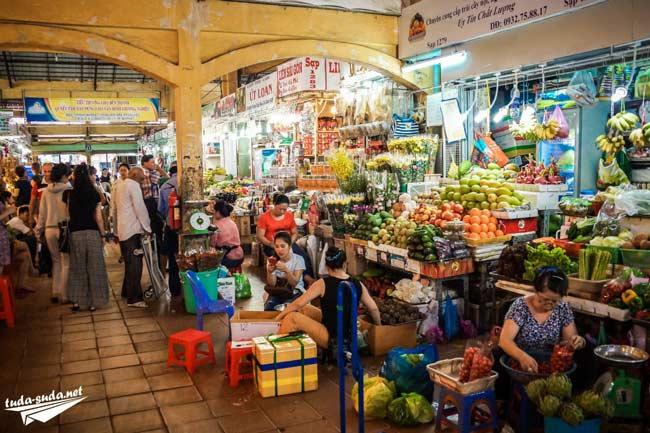 Рынок Ben Thanh Хошимин