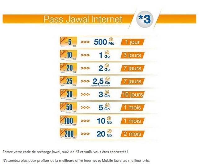 интернет в марокко цены