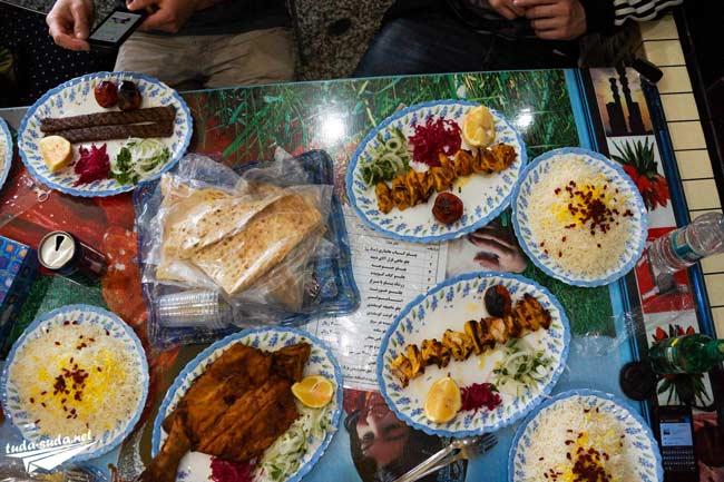 иранские блюда