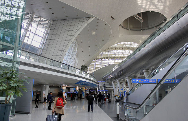 Международный аэропорт Инчхон Сеул