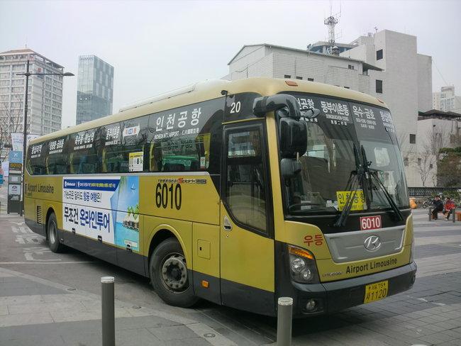 Лимузин-бас из аэропорта Инчхон