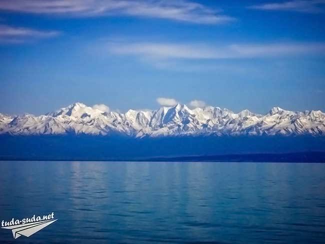 Южный берег Иссык-Куль