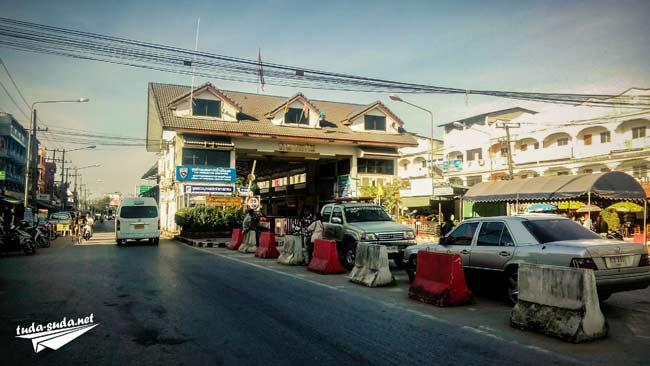 Переход Mae Sot - Myawaddy