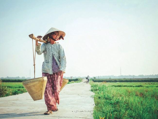 женщина Вьетнам