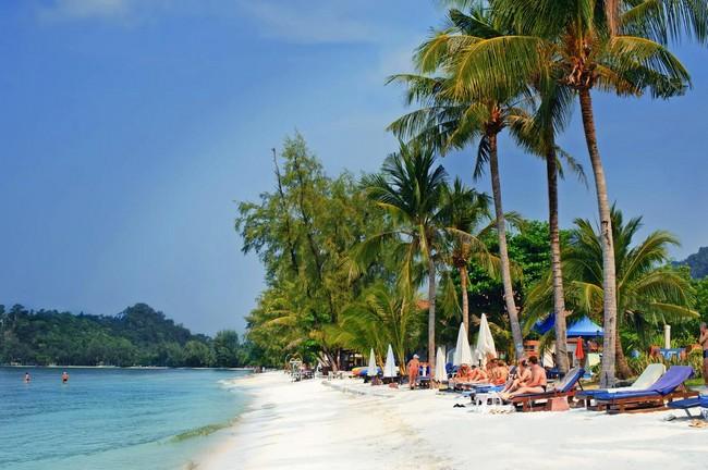 лучшие пляжи на острове Ко Чанг
